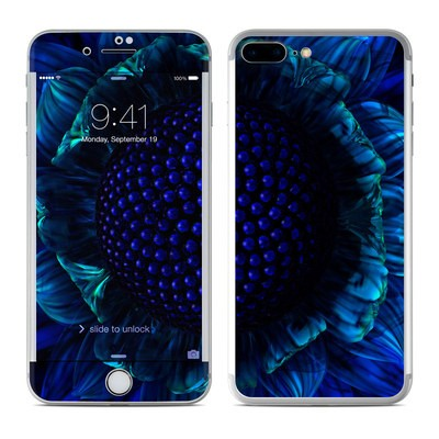 Apple iPhone 7 Plus Skin - Cobalt Daisy
