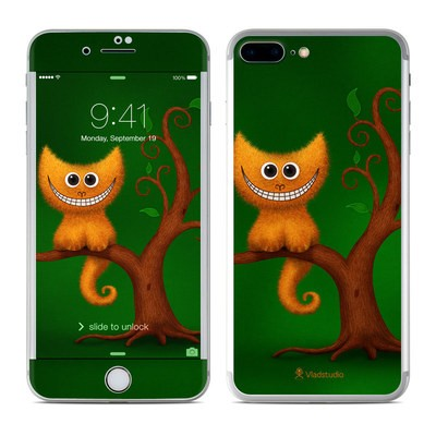 Apple iPhone 7 Plus Skin - Cheshire Kitten
