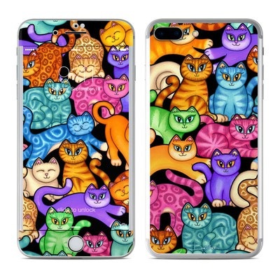 Apple iPhone 7 Plus Skin - Colorful Kittens