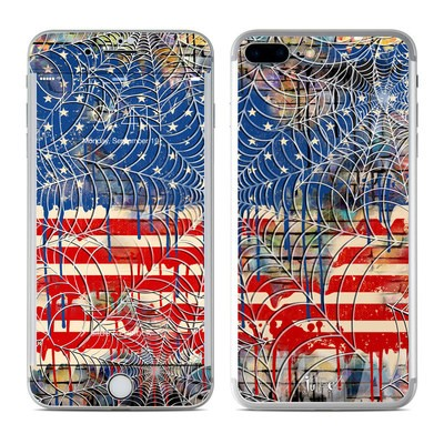 Apple iPhone 7 Plus Skin - Cobweb Flag