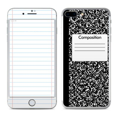 Apple iphone 7 plus skin composition notebook