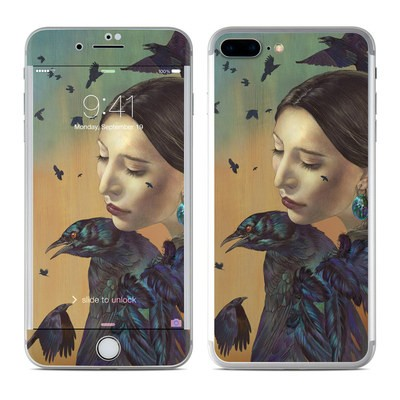 Apple iPhone 7 Plus Skin - Crow Maiden
