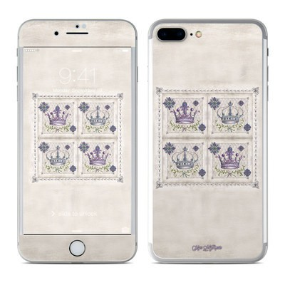 Apple iPhone 7 Plus Skin - Purple Crown