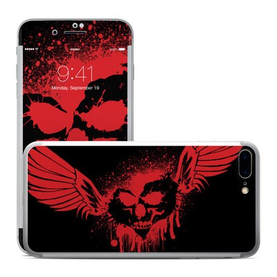 Apple iPhone 7 Plus Skin - Dark Heart Stains