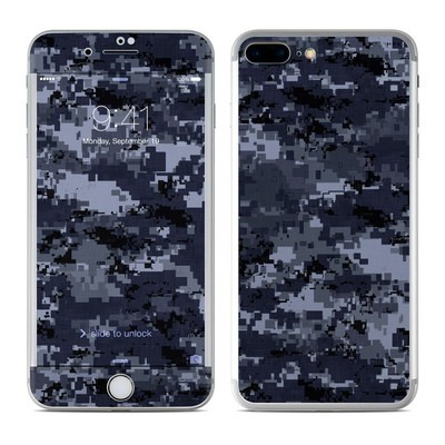 Apple iPhone 7 Plus Skin - Digital Navy Camo