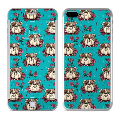 Apple iPhone 7 Plus Skin - Bulldogs and Roses