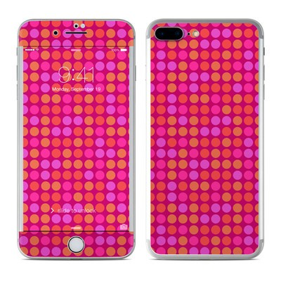 Apple iPhone 7 Plus Skin - Dots Pink