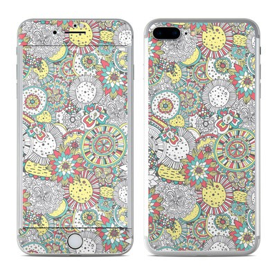 Apple iPhone 7 Plus Skin - Faded Floral