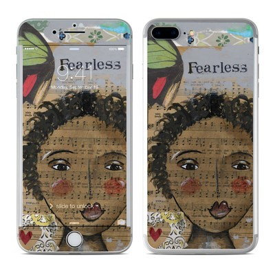 Apple iPhone 7 Plus Skin - Fearless Heart