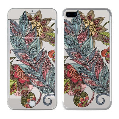 Apple iPhone 7 Plus Skin - Feather Flower