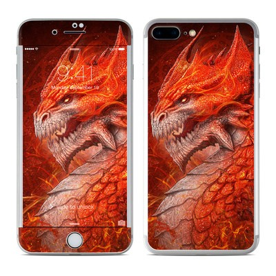 Apple iPhone 7 Plus Skin - Flame Dragon