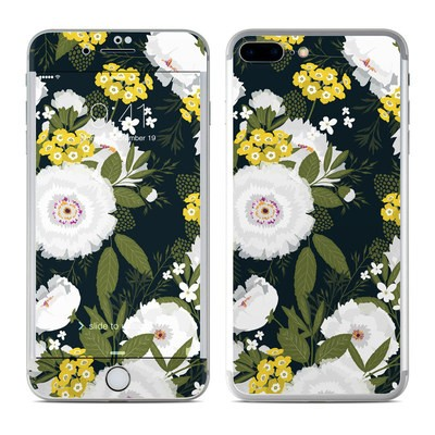 Apple iPhone 7 Plus Skin - Fleurette Night