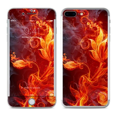 Apple iPhone 7 Plus Skin - Flower Of Fire
