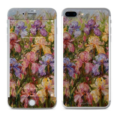 Apple iPhone 7 Plus Skin - Field Of Irises