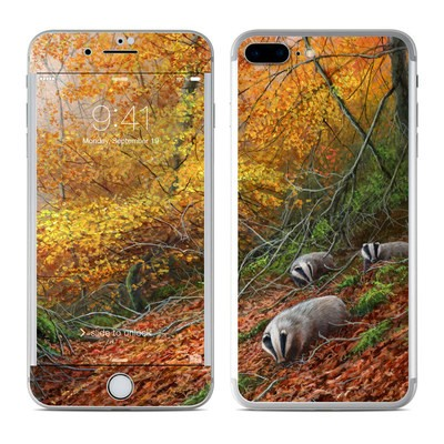 Apple iPhone 7 Plus Skin - Forest Gold