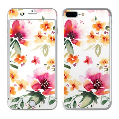 Apple iPhone 7 Plus Skin - Fresh Flowers