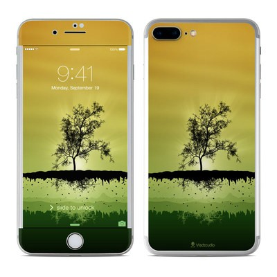Apple iPhone 7 Plus Skin - Flying Tree Amber