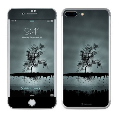 Apple iPhone 7 Plus Skin - Flying Tree Black