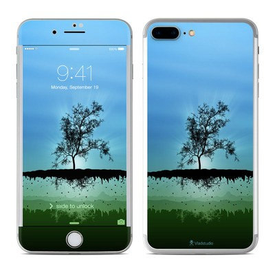 Apple iPhone 7 Plus Skin - Flying Tree Blue