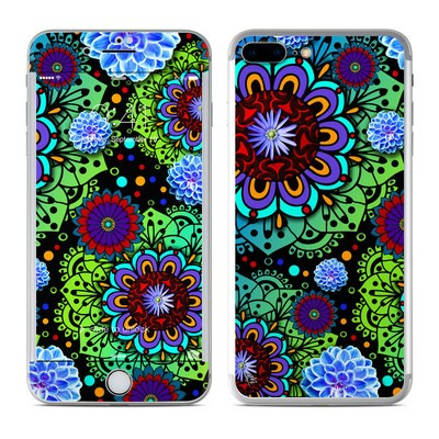 Apple iPhone 7 Plus Skin - Funky Floratopia