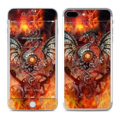 Apple iPhone 7 Plus Skin - Furnace Dragon