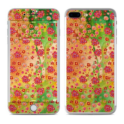 Apple iPhone 7 Plus Skin - Garden Flowers