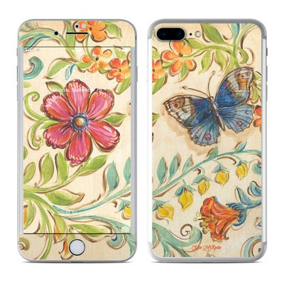 Apple iPhone 7 Plus Skin - Garden Scroll
