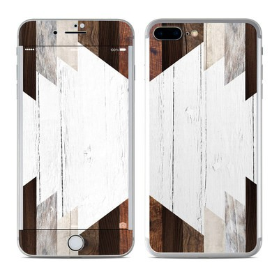 Apple iPhone 7 Plus Skin - Geo Wood