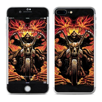 Apple iPhone 7 Plus Skin - Grim Rider