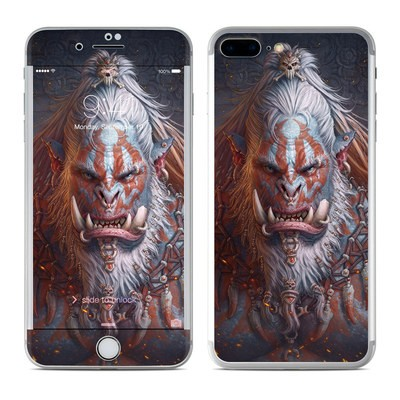Apple iPhone 7 Plus Skin - Gruddur Orangefist