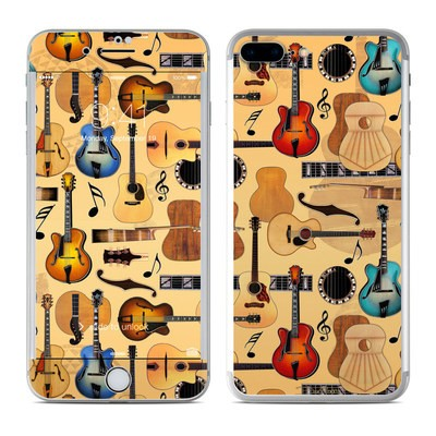 Apple iPhone 7 Plus Skin - Guitar Collage