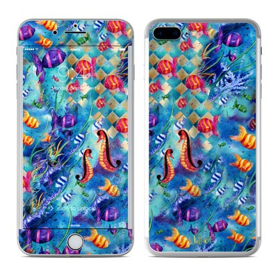 Apple iPhone 7 Plus Skin - Harlequin Seascape