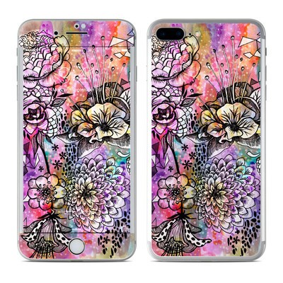 Apple iPhone 7 Plus Skin - Hot House Flowers
