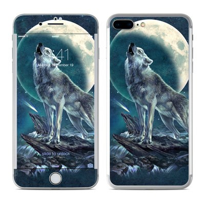 Apple iPhone 7 Plus Skin - Howling Moon Soloist