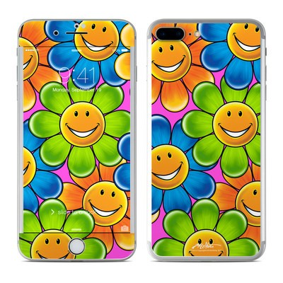 Apple iPhone 7 Plus Skin - Happy Daisies