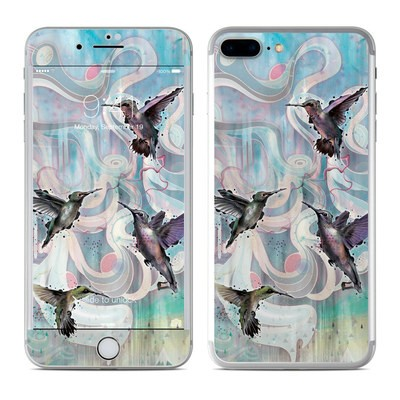 Apple iPhone 7 Plus Skin - Hummingbirds