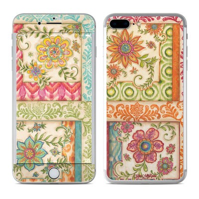 Apple iPhone 7 Plus Skin - Ikat Floral