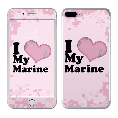 Apple iPhone 7 Plus Skin - I Love My Marine
