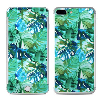 Apple iPhone 7 Plus Skin - Jungle Palm