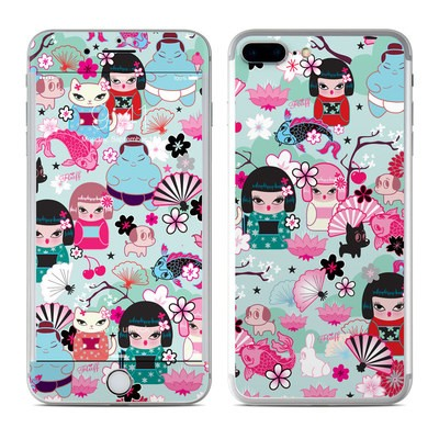 Apple iPhone 7 Plus Skin - Kimono Cuties