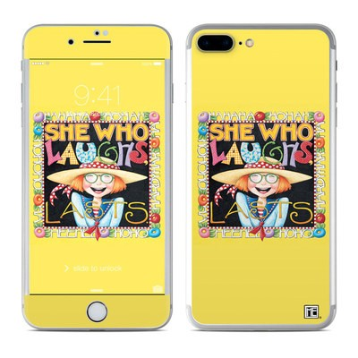 Apple iPhone 7 Plus Skin - She Who Laughs