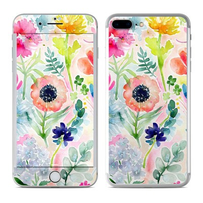 Apple iPhone 7 Plus Skin - Loose Flowers