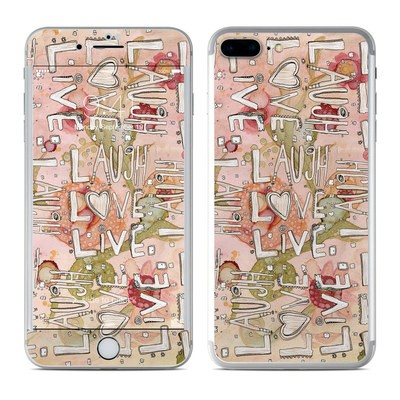 Apple iPhone 7 Plus Skin - Love Floral