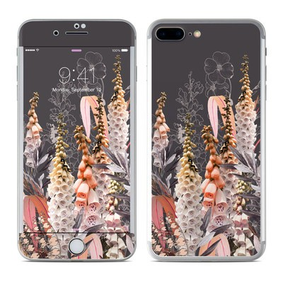 Apple iPhone 7 Plus Skin - Lupines Chocolate