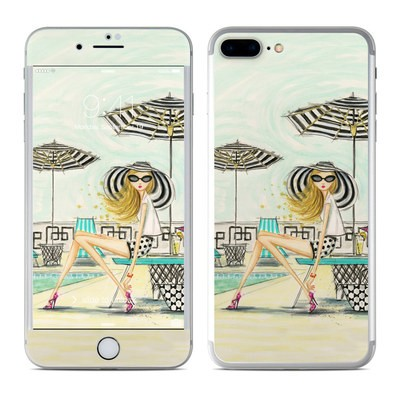 Apple iPhone 7 Plus Skin - Luxe Retreat Poolside