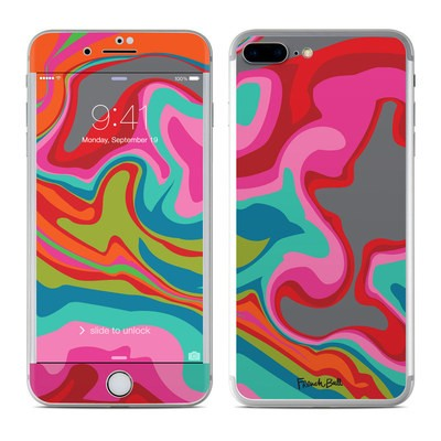 Apple iPhone 7 Plus Skin - Marble Bright