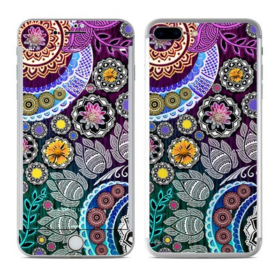 Apple iPhone 7 Plus Skin - Mehndi Garden