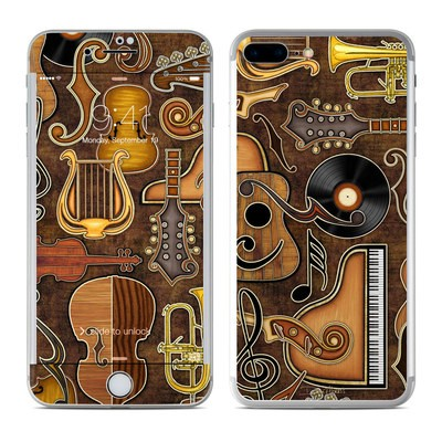 Apple iPhone 7 Plus Skin - Music Elements