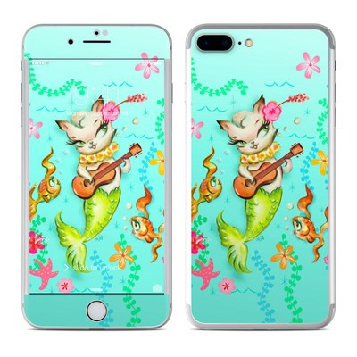 Apple iPhone 7 Plus Skin - Merkitten with Ukelele