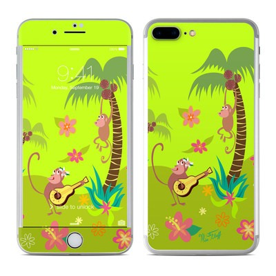 Apple iPhone 7 Plus Skin - Monkey Melody
